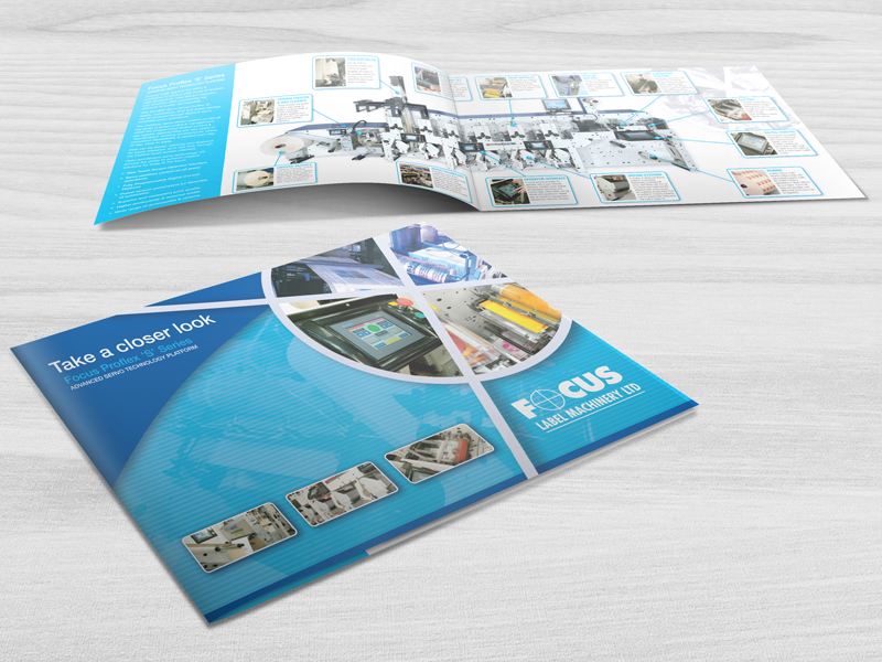 Brochure Design - Focus Label Machinery Brochure