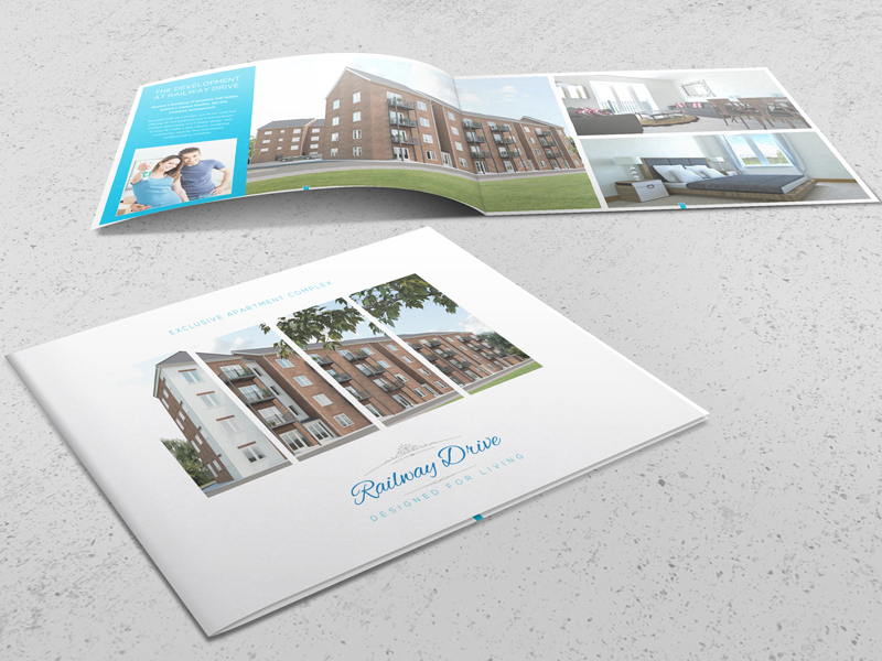 Brochure Design - Railway Drive Property Brochure