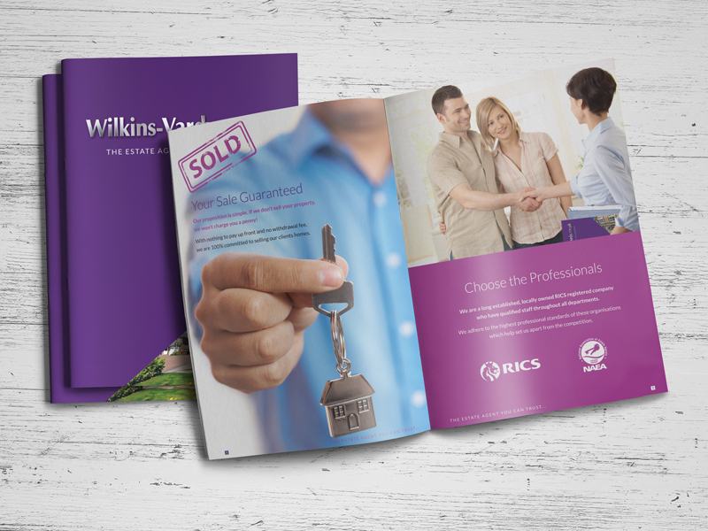 Brochure Design - Wilkins Vardy Brochure