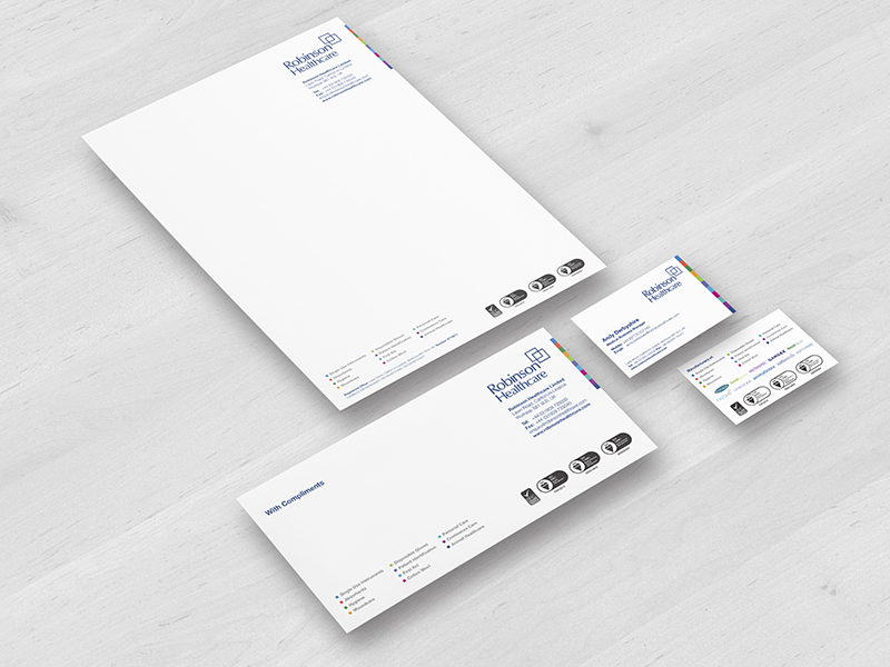 Stationery - Robinson Healthcare