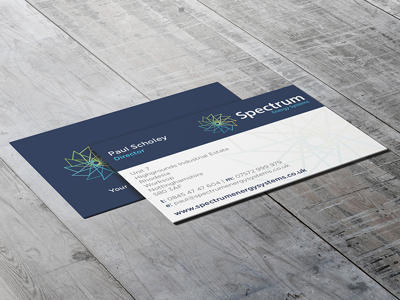 Business Cards - Spectrum Energy