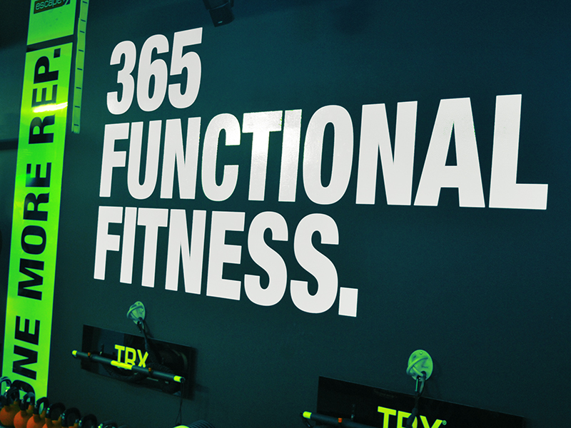 Signs - 365 Functional FItness
