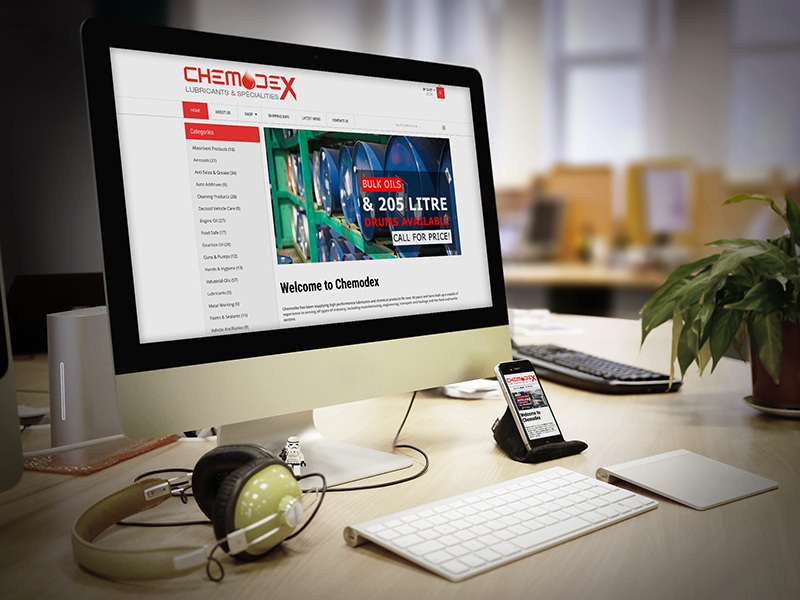 Website Design - Chemodex