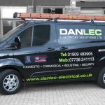 Vehicle Livery - Danlec Transit