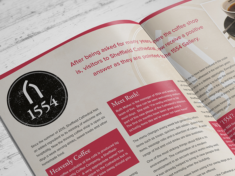 Brochure Design - The Diocese of Sheffield - Network News 1