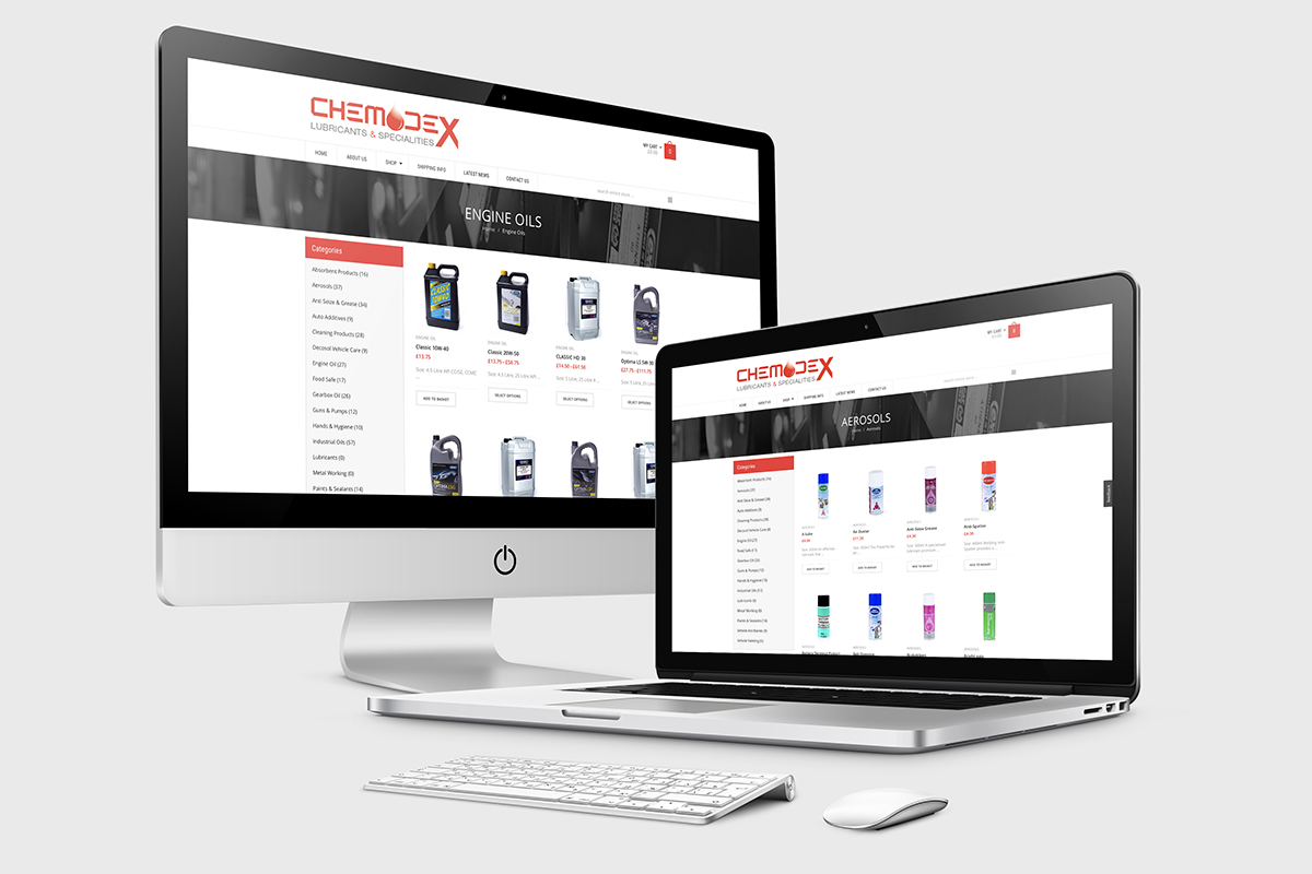 Website Design - E-commerce Website