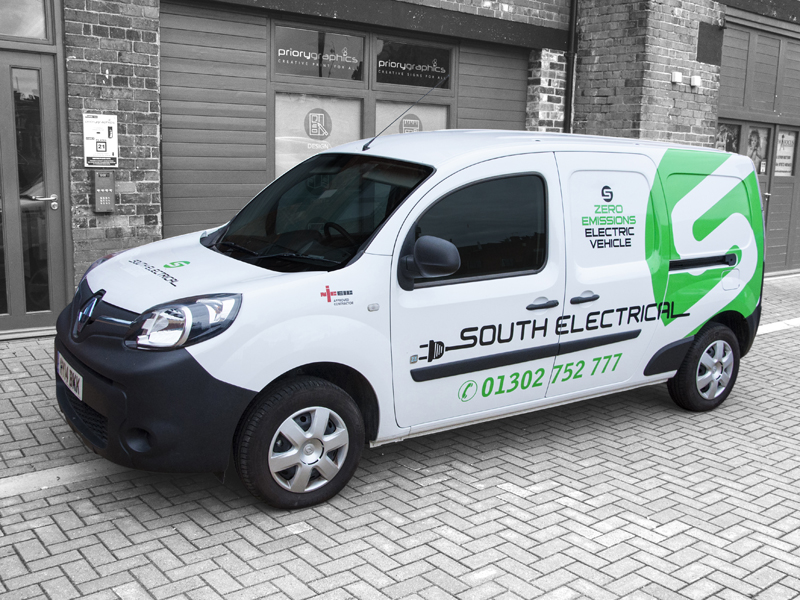 Vehicle Livery - South Electrical Eco 2