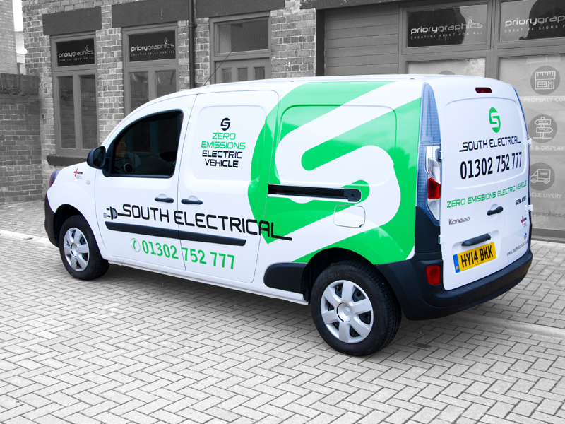Vehicle Livery - South Electrical Eco