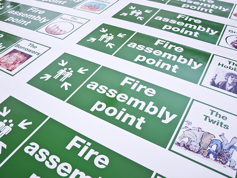 Creative Signs - Fire Point SIgns