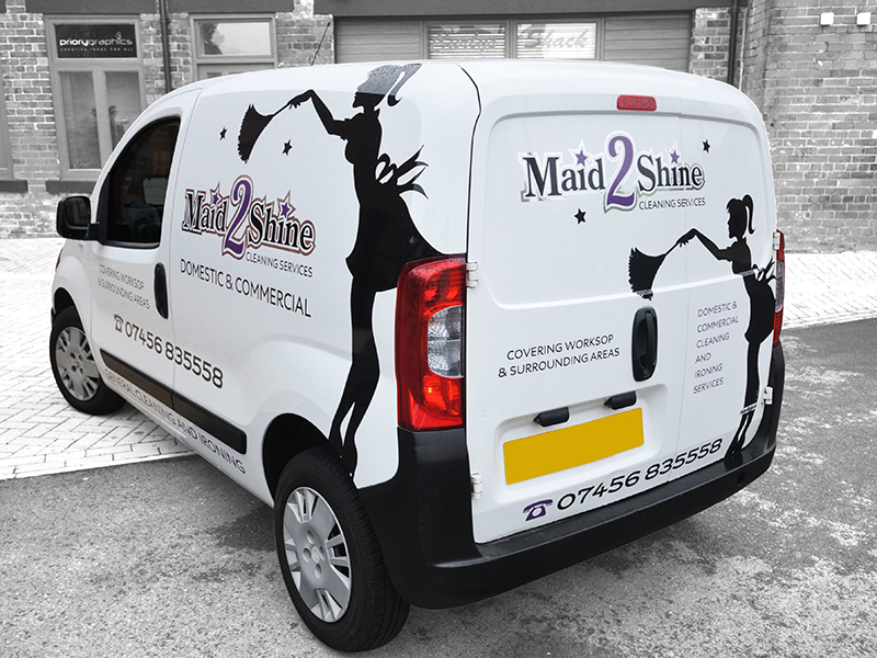 Vehicle Livery - Maid 2 Shine
