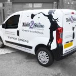 Vehicle Livery - Maid 2 Shine Rear