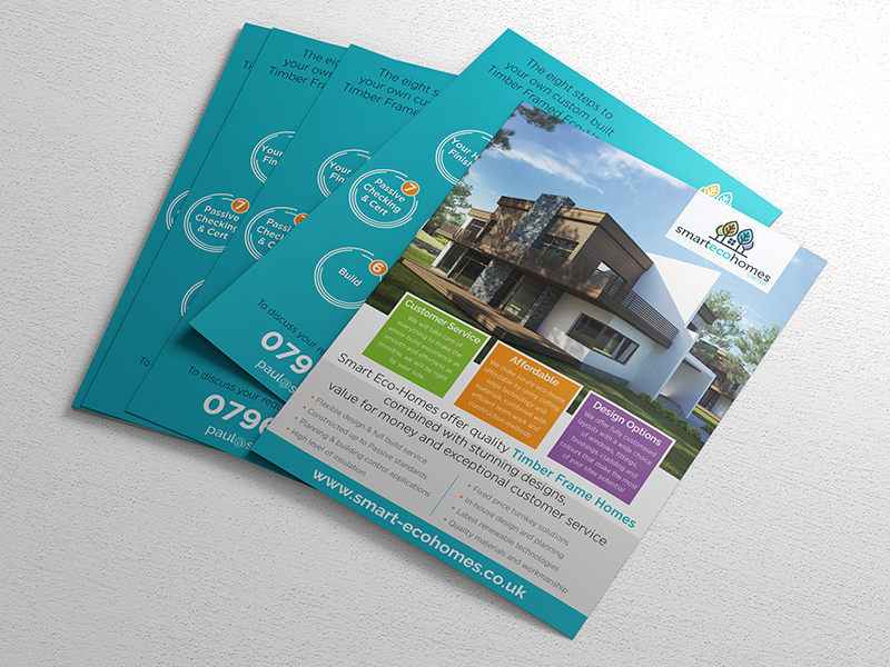 Leaflet Printing - Smart Eco Homes