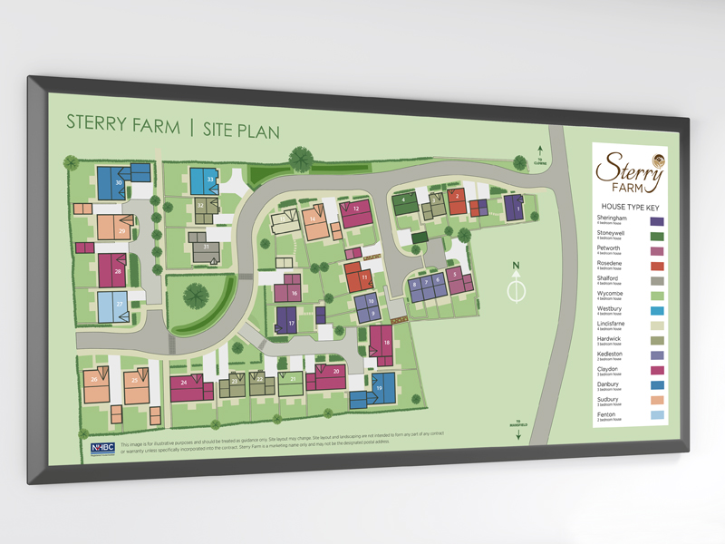 Signs - Woodall Homes Poster Board