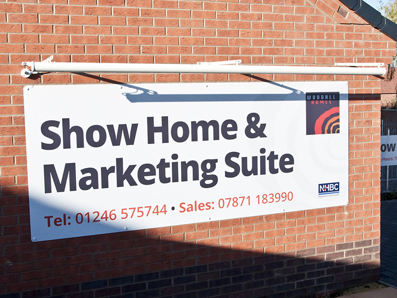 Creative Signs - Show Home Sign Board