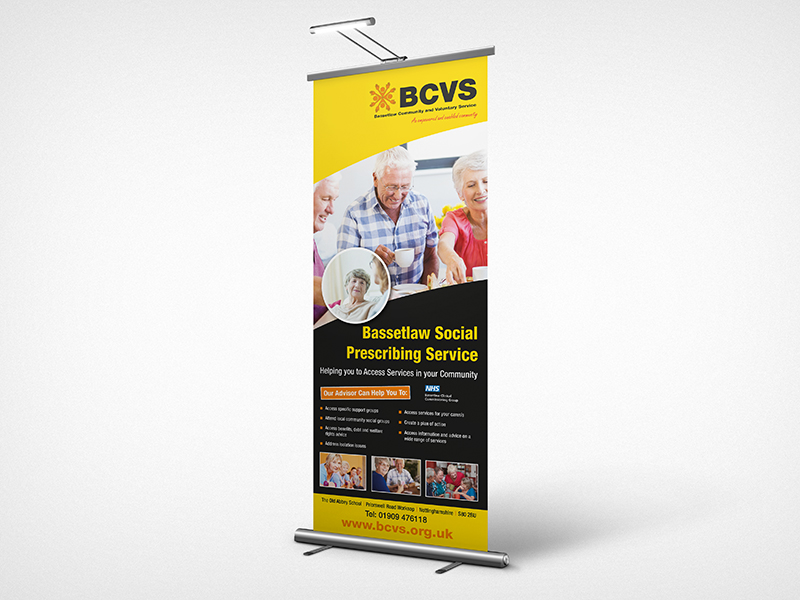 Exhibition Graphics - BCVS Banner