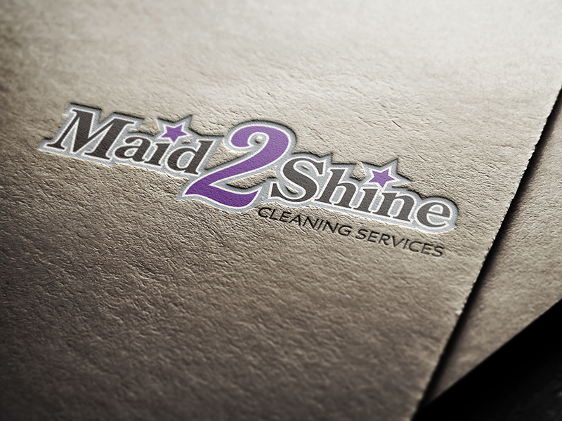Logo Design - Maid 2 Shine