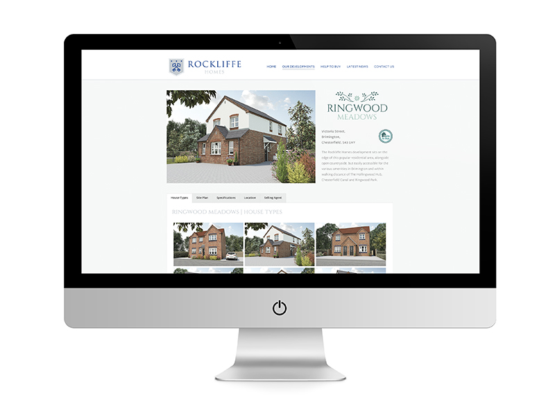 Website Design Doncaster - Rockliffe Homes